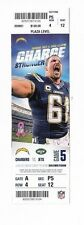2014 SAN DIEGO CHARGERS VS NEW YORK JETS TICKET STUB 10/5