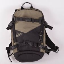 2017 NWOT QUIKSILVER SPECIAL BACKPACK $100 black/green 3 compartements