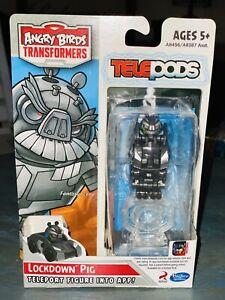 Transformers Angry Birds Dark Energon Lockdown Pig Telepods Factory Sealed