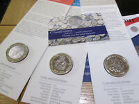 2018  ROYAL MINT BUnc £2 Coin FRANKENSTEIN AIRFORCE ARMISTICE AND PEOPLE ACT 50P