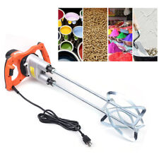Electric Concrete Cement Mixer 1800w 110v Handheld Grout Plaster Drill Mixer Usa