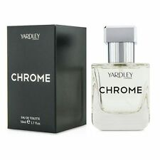 Yardley Chrome EDT Spray 50ml Men's Perfume