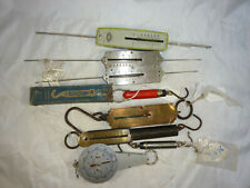 Scale Collection 8 Spring Scales Chatillon Pelouze Walsh Germany