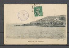 1910 Lettre VAPEUR MONT-ST-MICHEL, petit càd violet, SUP X3938