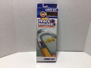 Mattel Hot Wheels Track Builder Curve Kit with Hot Wheels Car