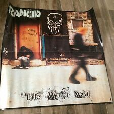 "Rancid ""Life Won't Wait"" Gigantic 34""x34"" Promo Poster"