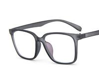 Oversize Square eyeglass frames Clear lenses Eyewear Glasses Women Men Fashion