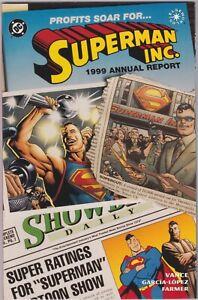 DC - Superman Inc. Elseworlds Prestige Format Special 1999 Vance, Garcia-Lopez