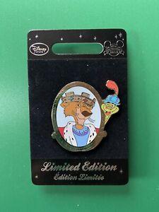Disney Store Europe Prince John & Sir Hiss Pin Limited LE Of 600 Robin Hood BNOC