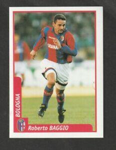FIGURINA STICKERS CALCIATORI DS PIANETA CALCIO 1997-98 BOLOGNA BAGGIO MINT