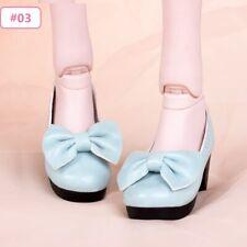 1/3 Scale BJD Doll Shoes 7.5cm Long Fashion Bow Elegant Shoes For Dollfie