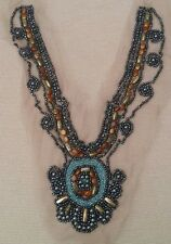 Designer EID, Party and shadi Pakistani hand work gala / neck lace