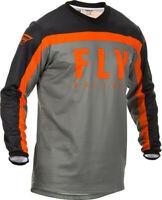 Fly Racing 2020 F-16 Jersey Youth Grey/Black/Orange YM 373-925YM