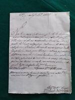 TOSCANA - LETTERA PREFILATELICA DEL 1754 DA FOIANO A FIRENZE