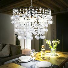 Luxus Hänge Leuchte Kristalle klar Wohn Zimmer Kron Leuchter Pendel Lampe Luster
