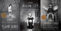 Miss Peregrine's Home for Peculiar Children 3 Book Set Collection - Ransom Riggs