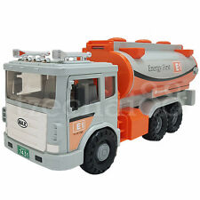 Daesung Petrol Tanker LPG E1 Tank Truck Door Openable Made in Korea Friction toy