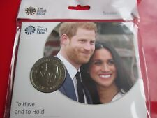 2018 Royal Wedding Harry and Meghan £5 Coin BUNC Mint Condition
