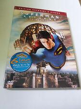 "DVD ""SUPERMAN RETURNS"" 2DVD EDICION ESPECIAL PRECINTADO SEALED BRYAN SINGER"