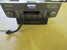 2001 2002 2003 Lexus LS430 Radio CD Player Receiver 6 Disc Changer OEM