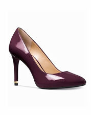MICHAEL Michael Kors Ashby Wine Flex Pumps Patent Leather Shoes 7 M NEW $110