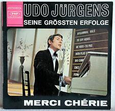 """12"""" Vinyl UDO JÜRGENS - Seine größten Erfolge - Merci Chérie"""