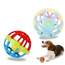 Pet Supplies Hollow Sound Bell Ball Puppy Molars Teeth Relax Dog Chew Toys New