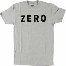 Zero Skateboards Grey Logo T-Shirt NWT XL FREE SHIPPING!