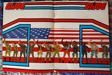 Vintage 1980s GI Joe poster from Comics Feature magazine 16x10.75