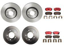 Front Rear Full Brembo Brake Kit Disc Rotors Ceramic Pad For Tucson Sportage FWD