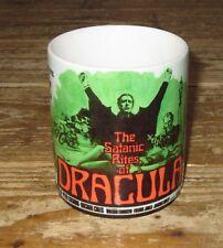 The Satanic Rites of Dracula Advertising MUG