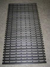 Fussbodenrost schwarz 60 x 80 cm Fussmatte Solarium