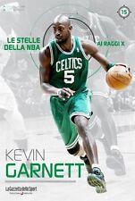 LIBRO BOOK - KEVIN GARNETT - LE STELLE DELLA NBA
