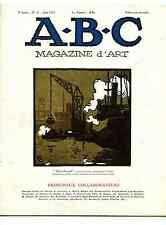 A-B-C Magazine d'Art 1927 portraits,art grec,bibelot,nature morte, Carel