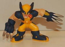 "2008 Blue Yellow Wolverine Thomas Logan 2"" Marvel X-Men Hasbro Super Hero Squad"