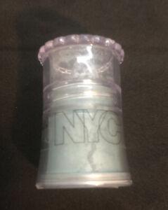 N.Y.C. Sparkle Eye Dust Shimmering Brush-On 890A BABY BLUE .1 oz