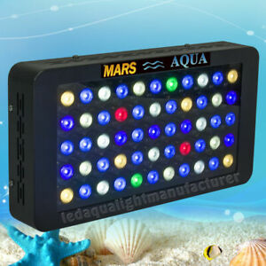 LED Aquarium Light Dimmable Full Spectrum Coral Reef Tank Marine MarsAqua 165W