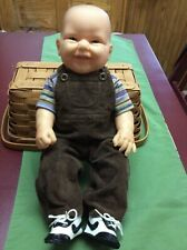 Adorable Happy Berenguer Boy Doll with Clothes