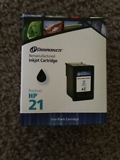 Dataproducts Remanufactured Inkjet Cartridge for HP 21 Black NEW! —1012