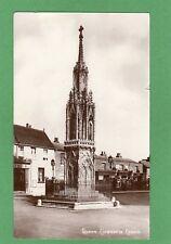 Queen Eleanor's Cross Waltham Cross  Cheshunt RP pc used 1911 Lawford Ref G552