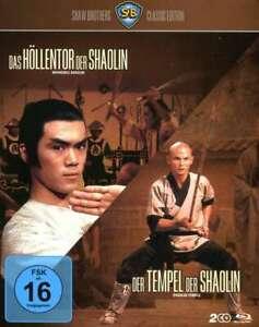 Das Höllentor der Shaolin / Der Tempel der Shaolin [Blu-ray/NEU/OVP] Shaw Brothe