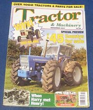 TRACTOR & MACHINERY NOVEMBER 2007 - UPTO 45 COUNTYS FOR SALE