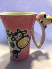 Indra Porcelain COW Cup Mug