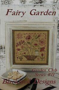 Fairy Garden by Blackbird Designs cross stitch pattern