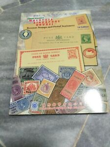catalogue revenue stamps and postal stationery of malaysia Singapore Brunei