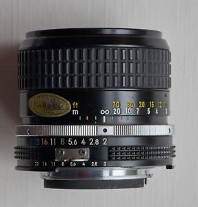 Nikon 85mm f/2 Ai-S lens in very good condition