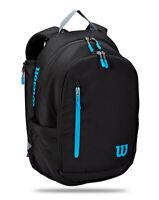 Wilson ULTRA Tennis Backpack Black Blue Badminton Squash Racquet WR8009301001