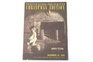 1946 Paper Pamphlet Pacific Stars And Stripes Christmas Edition