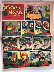 Walt Disney Mickey Mouse Weekly May 29,1954 Very Rare