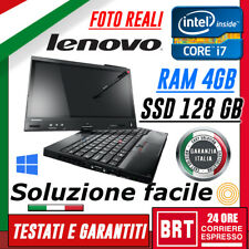 PC NOTEBOOK LENOVO 12 THINKPAD X230 TABLET CPU I7 4GB RAM SSD 128GB WIN 10 TOUCH